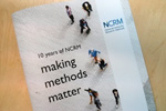 10 years of NCRM publication cover